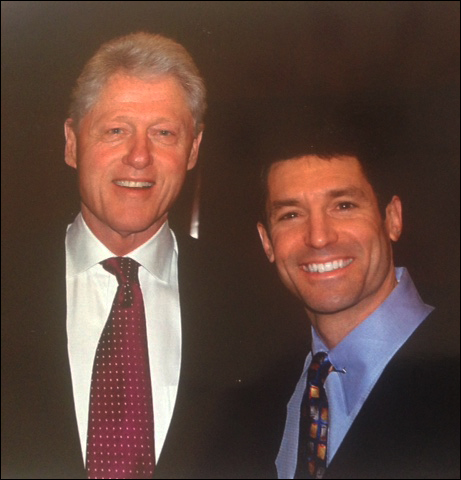 Dr. Katz with Bill Clinton